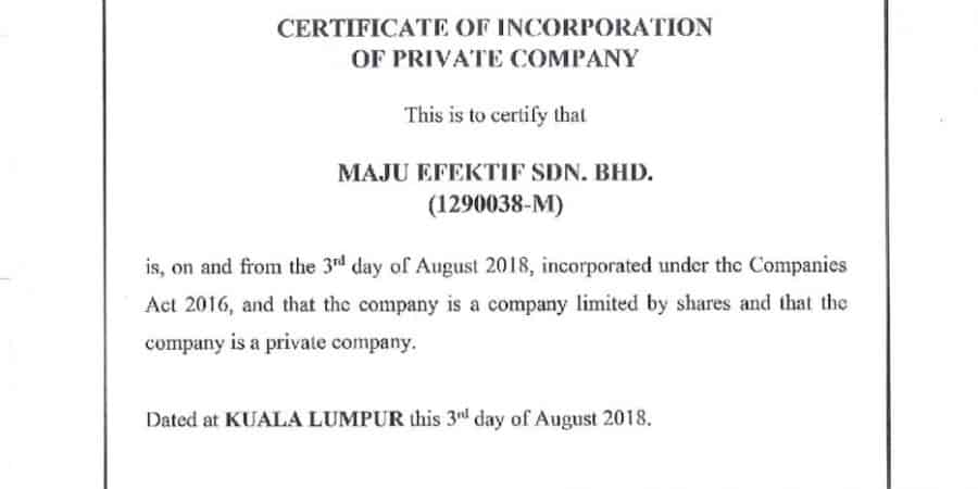 COMPANIES COMMISSION OF MALAYSIA (SSM)